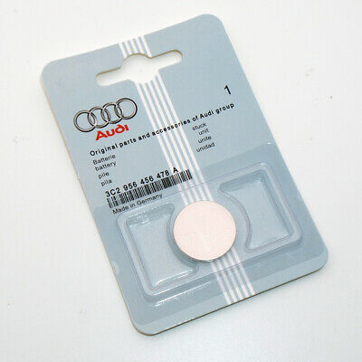 1x Genuine For Audi Car Key Fob Lithium Coin Cell Battery CR2032 Accessories New