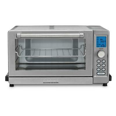 Cuisinart TOB-135N Deluxe Convection Toaster Oven Broiler Stainless Steel New