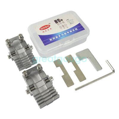 Universal Key Machine Fixture Clamp Locksmith Tool for Vertical Key Machine