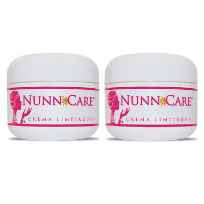 2 pack- NUNN CARE CREMA LIMPIADORA ORIGINAL VERSION MEXICANA/ ACNE SCAR CREAM