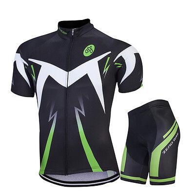 Pro Mens Bike Road Team Cycling Gear Jersey Shorts Kits Riding Shirt Tights Sets