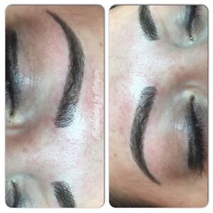 MICROBLADING EYEBROWS ($50 off January special) Cambridge Kitchener Area image 1