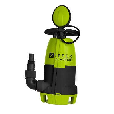 Pump water dirty clean and flat waterproof 3 en 1 Zipper ZI-MUP350 7500 L / h