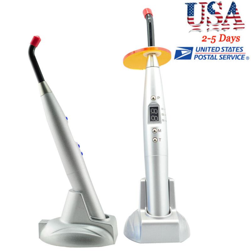 Pro 2019 NEW Dental 10W 2000mw Wireless Cordless LED Curing Light Lamp Dentist