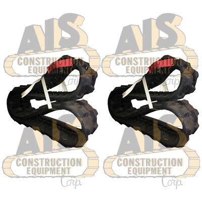 Two New 300x52.5nx74 Rubber Tracks Fits Bobcat 325 328 Vermeer 20x22 20x22 Ii