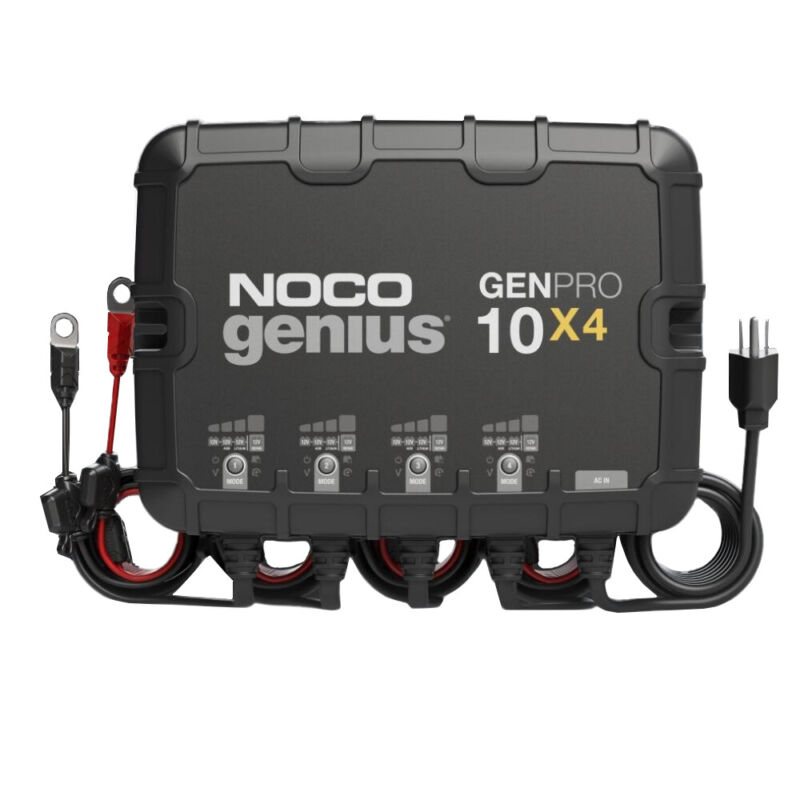 NOCO GENPRO10X4 12V 4-Bank 40-Amp On-Board Battery Charger