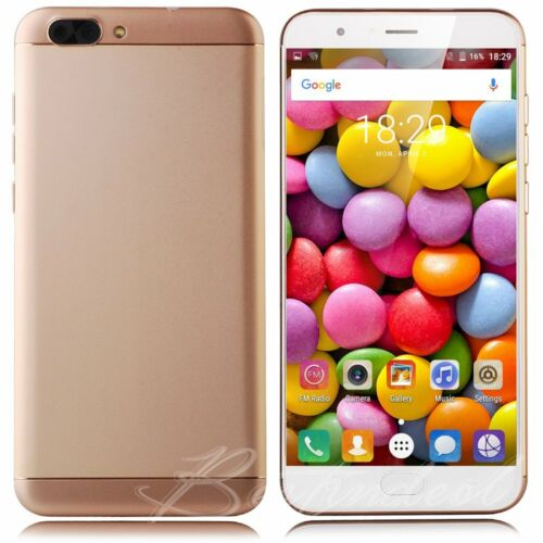 "Android Phone - Cheap 5.5"" Dual Sim Quad Core Android Smartphone Unlocked GSM Mobile Phone 16GB"
