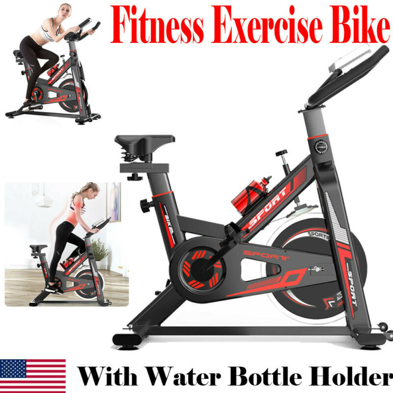 Indoor Cycling Bike Exercise Spin Bicycle Stationary Bikes C