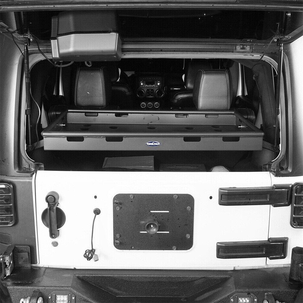 Storage Convenient Cargo Rack Fit 2007-2018 Jeep Wrangler ...