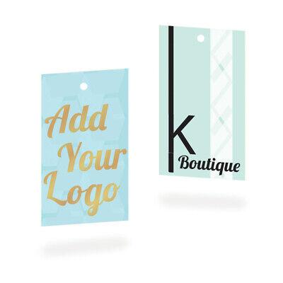 2 X 3.5 Custom Printed Clothing Tags Hang Tags Custom Tags Business Tag