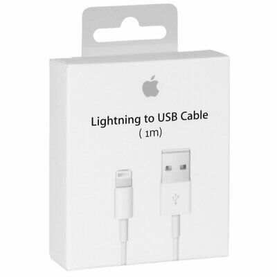 1m GENUINE ORIGINAL OFFICIAL For Apple iPhone 11/X/8/7/6S/6/5S Charger USB Cable