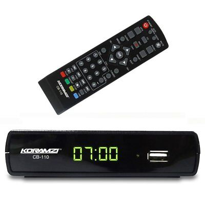 Analog to Digital TV Converter Box + Remote Control Koramzi CB-110
