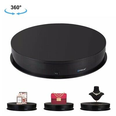 Puluz 30cm Usb Electric Rotating Turntable Display Stand Jewelry Display Holder