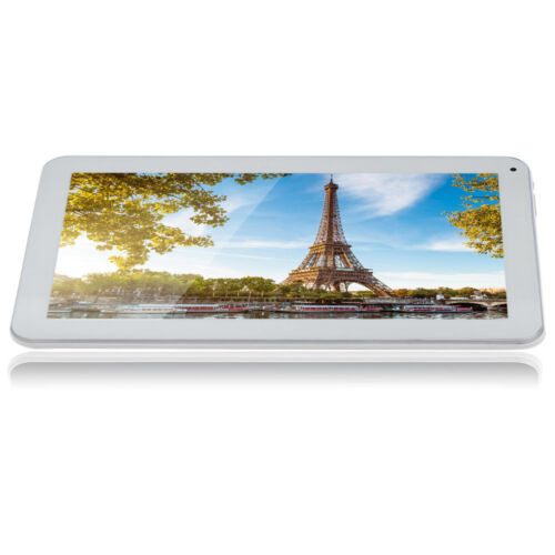"""iRULU 10.1"""" 16GB/1GB Android 6.0 Marshmellow A33 Quad Core GMS White Tablet PC"""