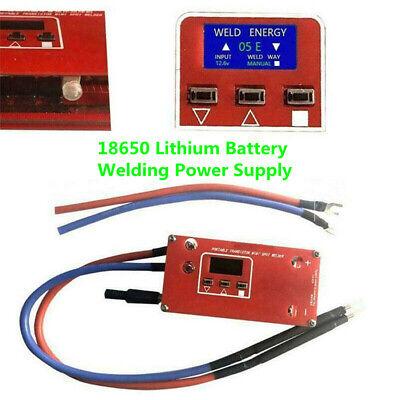 Diy Spot Welder Machine 18650 Battery Welding Power Supply Portable Mini Us