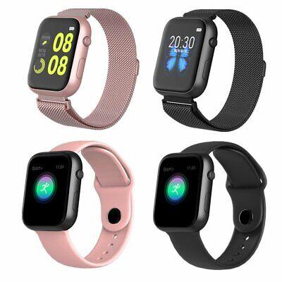 Waterproof Smart Watch Heart Rate Bracelet Women Men For iPhone Android IP67 UK