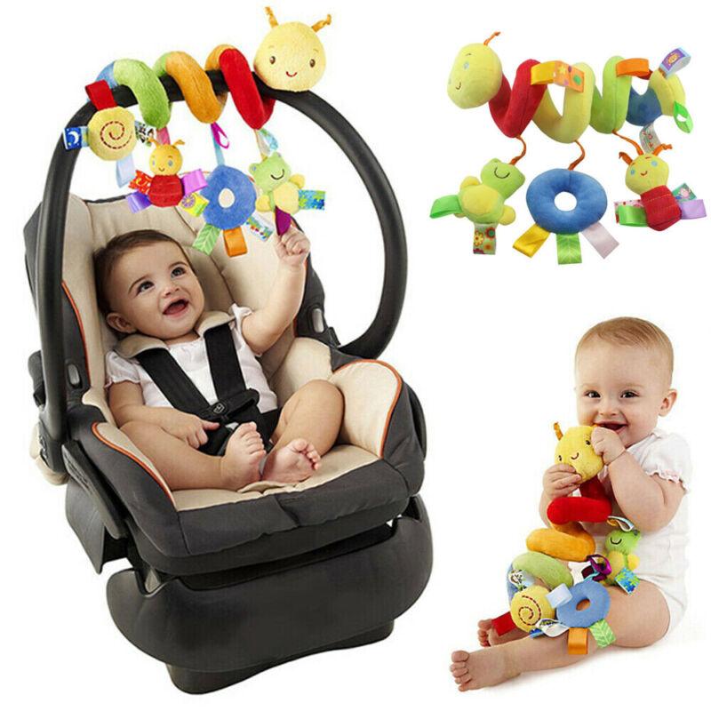 Baby Crib Cot Pram Hanging Rattle Spiral Stroller Car Seat Pushchair Toy 8C