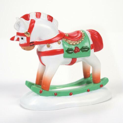 Dept 56 CHRISTMAS ROCKING HORSE General Village 6007670 Department 56 NEW 2021