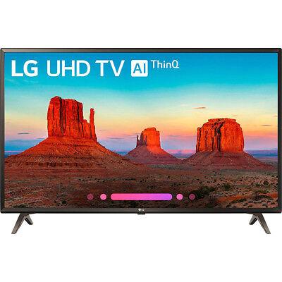 "LG 43UK6300PUE 43"" Class 4K HDR Smart LED AI UHD TV w/ThinQ (2018 Model) - Open"
