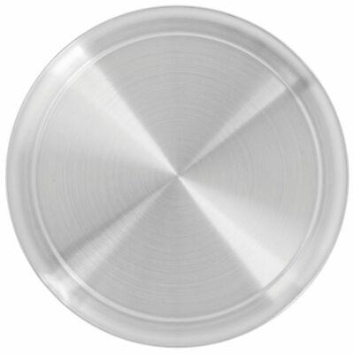 Hubert Pizza Pan With Wide Rim Round Aluminum - 12dia