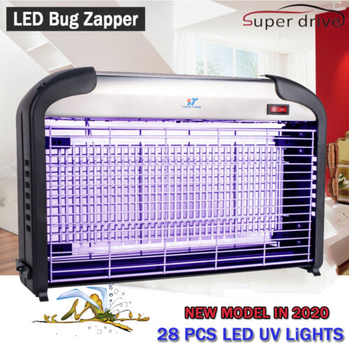 28PCS LED UV Light Electric Bug Zappers Insect Killer Fly Moth Mos​quito Killer