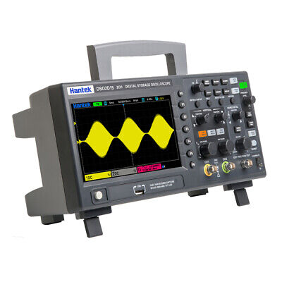 7in Dso2d15 Tft Digital Oscilloscope 2ch1ch Chananel 150mhz 1gsas Sample Rate