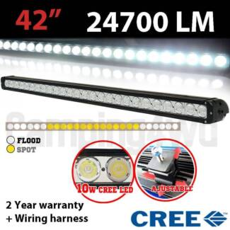 "42"" 240W CREE LED Lightbar (inc full wiring harness Craigie Joondalup Area Preview"