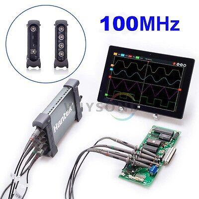 100mhz Bandwidth 4 Channel 1gsas 6104bc Pc Based Usb Digital Oscilloscope