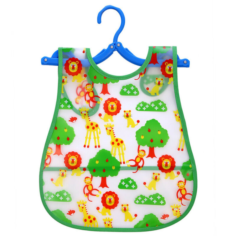 Newborn Cute Kids Bibs Baby Soft Cartoon Bib Toddler Waterproof Saliva Dripping B