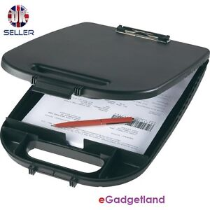 DOCUMENT-CLIPBOARD-STORAGE-BOX-PAPERWORK-PROTECTIVE-CONTAINER-NEW