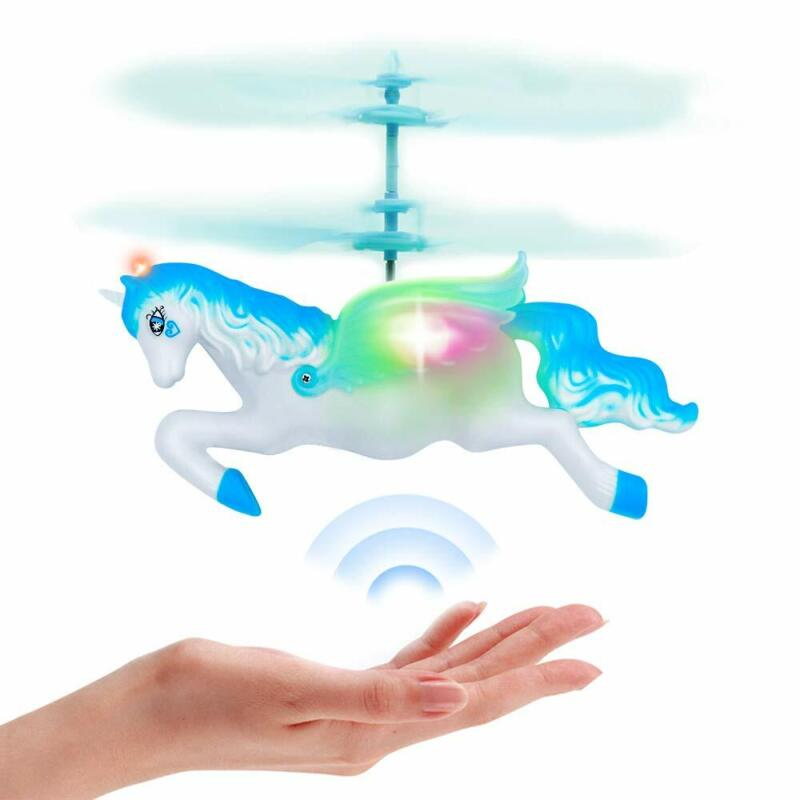 Flying Helicopter Unicorn Toys Gifts For 6 7 8 9 10 Year Old