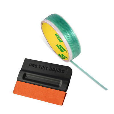 5m Knifeless Tape Finish Line Tape Finishing Vinyl Car Wraps Suede Felt Squeegee
