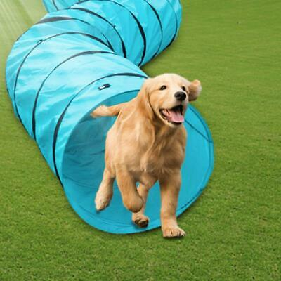 18' Dog Agility Tunnel Obedience Training Exercise ...