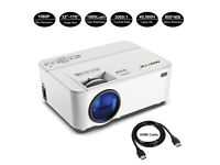 BRAND NEW,,1800 Lumens Mofek Portable Video Projector