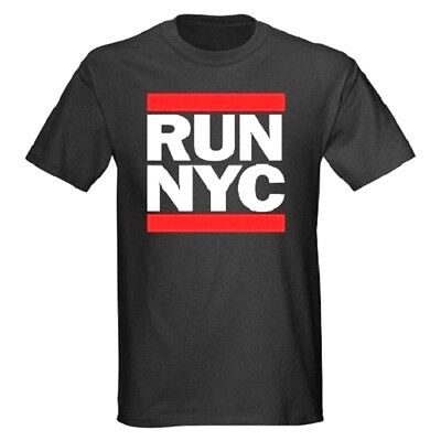 RUN NYC T-SHIRT ALL SIZES & COLORS 100% COTTON (10034) (Color Run Shirts)