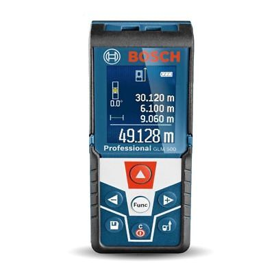 Bosch Glm500 Professional Laser Distance Meter With Backlit Display - Free Dlvry