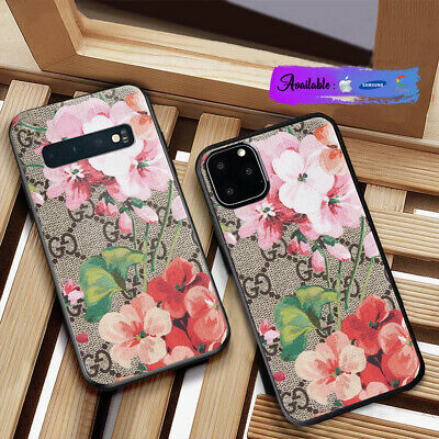 Cover Phone Case iPhone 7 Plus 8 X XR XS Guccy411xCases 11 Pro Max D03 Flower