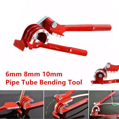 6mm 8 10mm Od Pipe Bending Tool Car Tubing Bender Machine Hose Brake Fuel Line