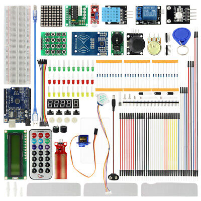 New Starter Kit For Arduino Uno R3 Self-grouping Module With Retail Box