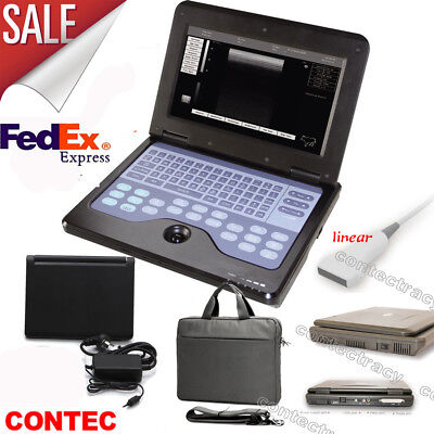 Usa Portable Cms600p2 Laptop Ultrasound Scanner Machine With 7.5mhz Linear Probe
