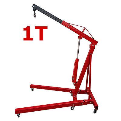 New 1 Ton Hydraulic Engine Crane Stand Hoist lift Jack Heavy Duty Lifting Tools