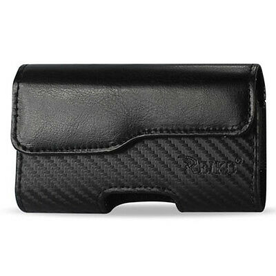 Iphone 3g Holster - for Apple iPhone 3G 3GS 4 4S Black Leather Pouch Case Belt Clip/Loop Holster