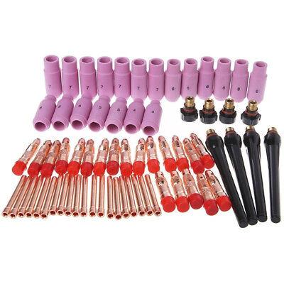 68pcs Set Tig Torch Consumables Accessories Kit For Pta Db Sr Wp 17 18 26