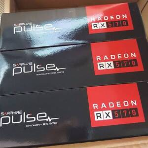 AMD RX 570 - Overclocked Mining Rig Cards Malvern East Stonnington Area Preview