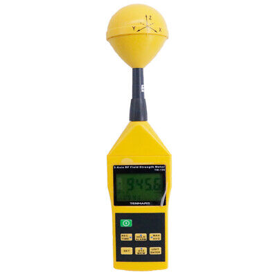 Tm196 Emf Meter High Frequency Rf Electromagnetic Wave Field Strength Tester
