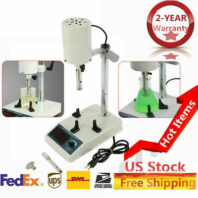 Hot Lab Mixer High Speed Dispersion Fsh-2a Homogenizer Single Throughput 101000