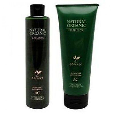 Abreeze Natural Organic Shampoo AC & Hair pack AC Treatment Hair care Scalp Care