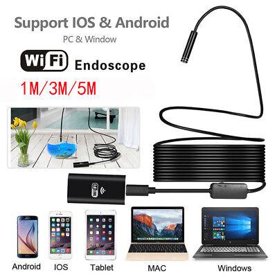 Us Wireless Endoscope Wifi Borescope Inspection Camera For Samsung Galaxy Note 9