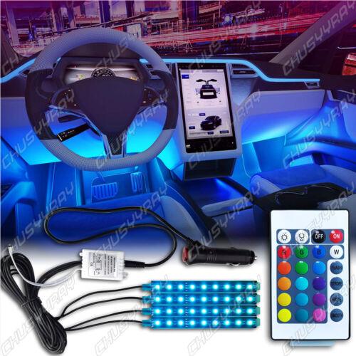 Luces LED -Para Autos Carro Coche Interior De Colores Decorativas accesorios luz