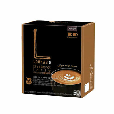 Namyang LOOKAS 9 Double Shot Latte Korean instant Coffee Mix 14.9g x 50Sticks